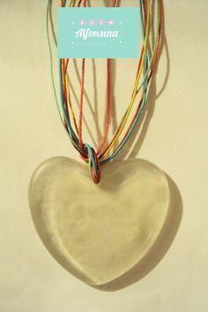 corazón de resina