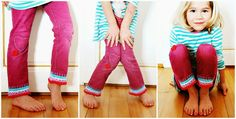 My Rose Valley: Pants... they are too short Mama!