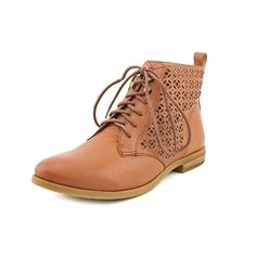Lucky Brand Womens Hirro Leather Oxford Ankle Boots *** Tried it! Love it! Click the image. : Boots