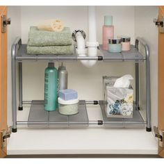 "Seville Classics 18"" - 30"" x 15"" Expandable Sink Bathroom Shelf & Reviews   Wayfair"