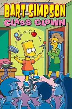 Bart Simpson Class Clown (Simpsons Comic Compilations) | Simpsons Zone More ➤ http://simpsons.zone/product/bart-simpson-class-clown-simpsons-comic-compilations/