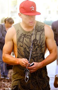 Channing Tatum.  http://media-cache4.pinterest.com/upload/248331366923111069_BKwGmS9e_f.jpg seksidancer sexiest men alive