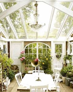 this weeks home trend alert ❕[ sunrooms ] ☀️more & more of our clients are adding them under their 'love to have home feature'.. not only are these spaces relaxing & great for entertaining but an awesome space for maintaining your herbs/plants through a not-so-pleasant NJ winter ❕
