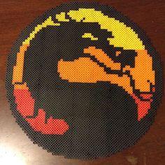Mortal Kombat perler beads by  perler_purrs
