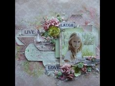 My Scrappin Spot: Vintage Rose Garden Collection Projects for Bella Paperie +Video