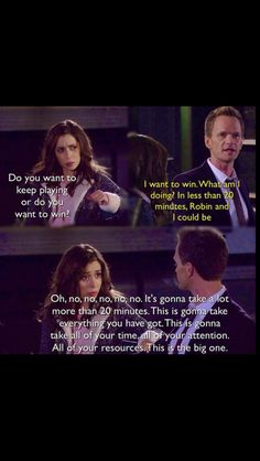 Tracy and Barney . How I met your mother #himym