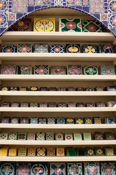 Colourful tiles at the 2013 Cape HOMEMAKERS Expo