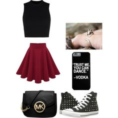Untitled #7 by ellenks on Polyvore featuring polyvore, fashion, style, Wood Wood, Converse and Michael Kors