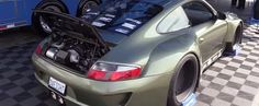 Porsche 911 with LS3 V8 and Wide Body Kit Looks Like a Fetish at LS Fest - Video