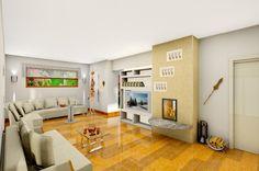 Bungalow Wohnzimmer Livingroom
