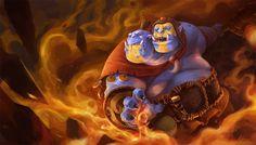 #Dota2 Ogre Magi by linxz2010.deviantart.com on @deviantART
