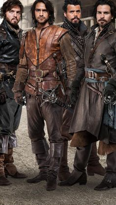 season 2 BBC's The Musketeers, they're back! I didn't realize BBC america was airing it already but I'm so happy!