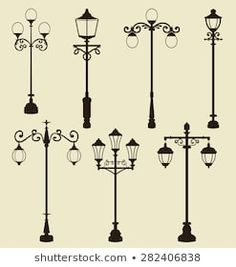 Find Retro Modern Street Lanterns stock images in HD and millions of other royalty-free stock photos, illustrations and vectors in the Shutterstock collection. Lantern Drawing, Pattern Design Drawing, Illusion Paintings, Old Lanterns, Old Lamps, Street Lamp, Weaving Art, Lamp Sets, Vintage Lamps