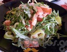Δροσερή και πολύ γευστική! Salad Recipes, Cabbage, Recipies, Sweet Home, Vegetables, Food, Greek Recipes, Recipes, Meal