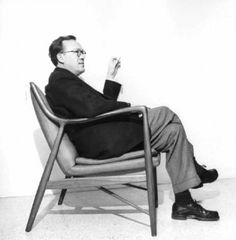 "Finn Juhl (30 January 1912 – 17 May 1989) was a Danish architect, interior and industrial designer, most known for his furniture design. He was one of the leading figures in the creation of ""Danish design"" in the 1940s and he was the designer who introduced Danish Modern to America."