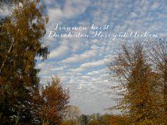 Druck Himmels-Landschaft mit Zitat Träumen heißt: von LindasSmile