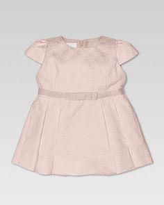 Jacquard Pleated Satin Dress by Gucci at Bergdorf Goodman.