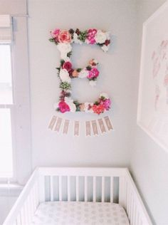 Custom Floral Letters by FreshPartyCollective on Etsy
