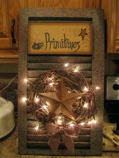 old washboard crafts - - Yahoo Image Search Results Primitive Crafts, Primitive Christmas, Country Primitive, Country Christmas, Christmas Crafts, Xmas, Decor Crafts, Wood Crafts, Diy Crafts