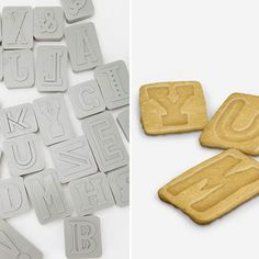 Letter Pressed Cookie Cutters from Fred & Friends — Faith's Daily Find 03.02.12