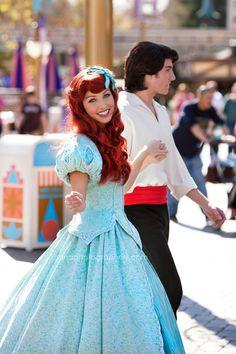 Eric & Ariel at Disneyland