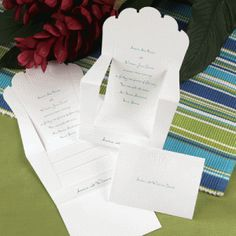 I mean seriously, muskoka chair wedding invitations! How cute and perfect for a summer wedding!