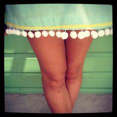 Wonka Pom Pom Skirt. $56.00, via Etsy.