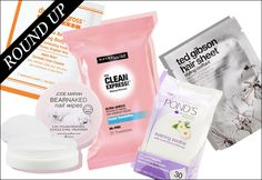 Makeup wipes for your specific needs Waterproof makeup Skin type Acne Sensitive skin Dry skin Etc