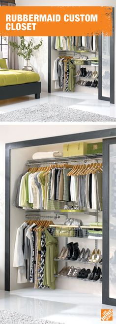 Your style is unique, so why not get a closet to match. Learn more about customizable closets at homedepot.ca: http://hdepot.ca/2gpmcFI