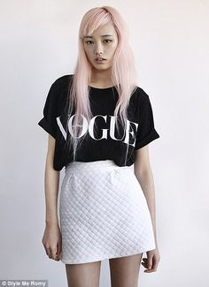 model Fernanda Ly | Vogue Fashion's Night Out had its global launch in Sydney on Thursday ...
