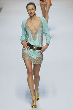 Blumarine Spring 2008 Ready-to-Wear Fashion Show - Valentina Zelyaeva