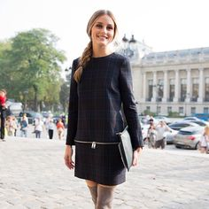 Chic-ness personified! Love this! Love Olivia Palermo!