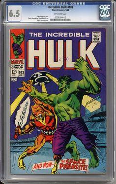 Incredible Hulk #103 CGC 6.5