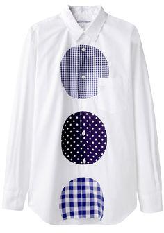 COMME DES GARÇONS SHIRT MAN | Patches Shirt | Shop @ La Garçonne