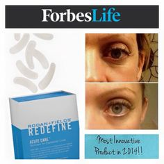 More exciting news from Rodan and Fields!! Forbes has named our Acute Care as one of the most innovative beauty products in 2014! Let me know when you are ready to get rid of those expression lines!  http://www.forbes.com/sites/sboyd/2015/01/31/2014s-most-innovative-beauty-products