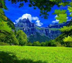 View of Majestic Mountain Peak