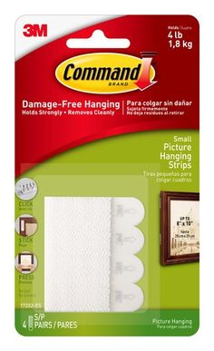 17202ES Command(TM) Small Picture Hanging Strips