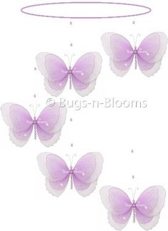Butterfly Mobile Purple (Lavender) Multi-Layered Spiral Nylon Butterflies Mobiles Decorations. Decorate for a Baby Nursery Bedroom, Girls Room Hanging Ceiling Decor, Wedding Birthday Party, Bridal Baby Shower, Bathroom. Kids Childrens Decoration 3D Art Craft Bugs-n-Blooms http://www.amazon.com/dp/B003TTLZ1M/ref=cm_sw_r_pi_dp_zpMqub1HMGEEQ