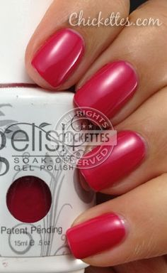 best website to see gelish colors on nails instead of swatches #harmony