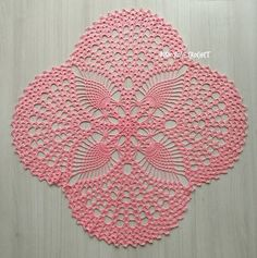 How to be successful in the business of interior design - Crochet Filet Crochet Doily Patterns, Crochet Designs, Crochet Doilies, Crochet Stitches, Crochet Mat, Crochet Home, Filet Crochet, Blanket Crochet, Crochet Table Runner Pattern