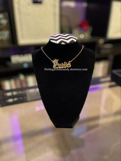 #necklace Custom Jewelry, Diamond Earrings, Pretty, Accessories, Personalized Jewelry, Ornament