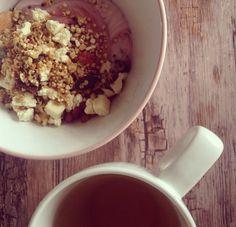 Morning teatime #granolatime