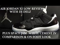c709ff8a6ec Air Jordan 11 Low Black Infrared 23 Shoe Review Compare W  Space Jam XI .