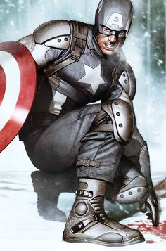 """Captain America"" by Adi Granov"