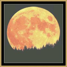 Blood Moon [NFP-89] - $16.00 : Mystic Stitch Inc, The fine art of counted cross stitch patterns