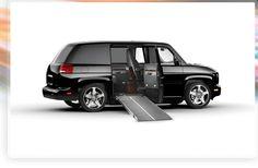 MV-1 adapted van