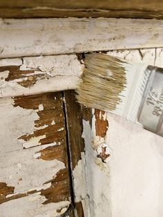 how to seal chippy paint vintage mantel - June 22 2019 at