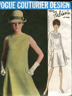 1960s OnePiece Dress & Jacket Vogue by DesignRewindFashions, $65.00