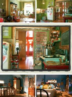 Take this Waltz set. Like the stained glass partial room divider.