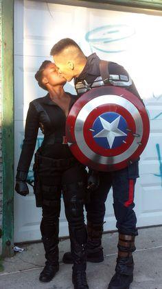 Interracial romance at Comic Con #love #wmbw #bwwm
